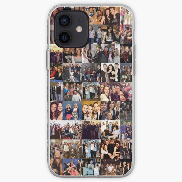One Tree Hill Cast Collage - Many Items Available  iPhone Soft Case