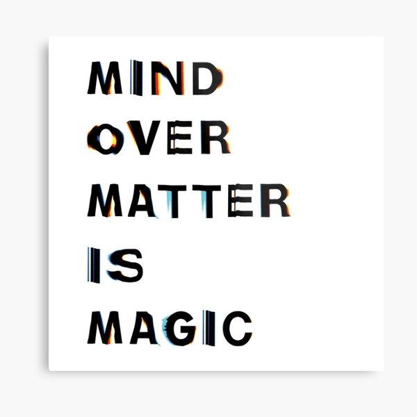 Frank Ocean - Mind Over Matter Is Magic Metal Print