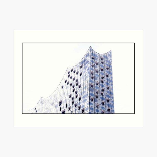Elbphilharmonie ... Hamburg Kunstdruck