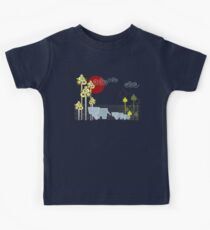 Ellephant Family In The Forest Kids Tee