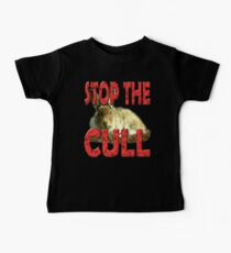 STOP THE HARE CULL Baby Tee