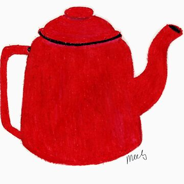 The Red Teapot by meels