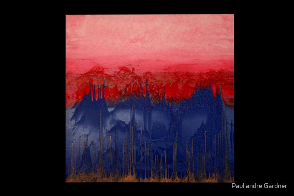 Oriental skyline by Paul andre Gardner