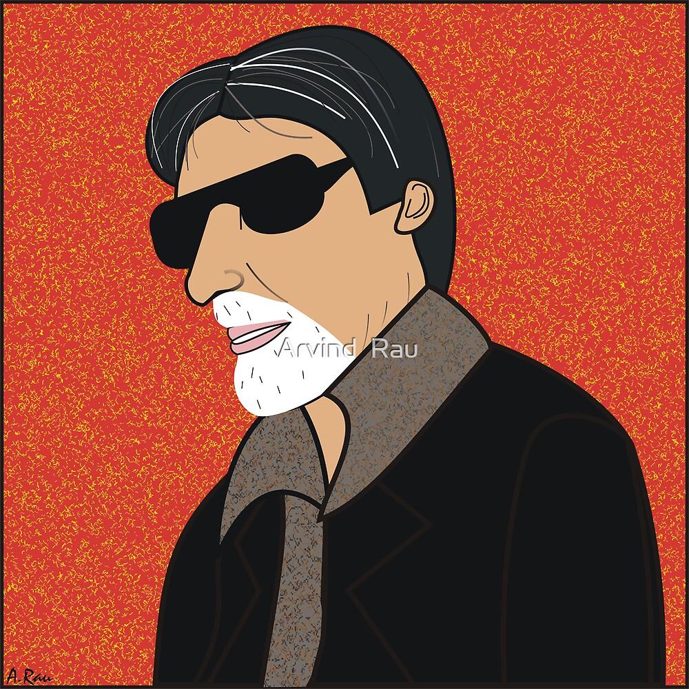Amitabh Bachchan by Arvind  Rau