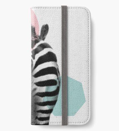 Zebra 01 iPhone Wallet
