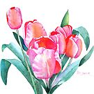 Tulips for Mikaela by Pat Yager