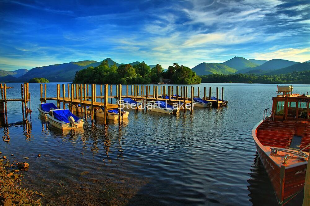 Derwent Water Boats by Stewart Laker