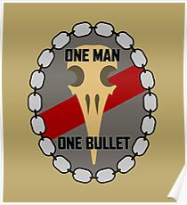 One Man One Bullet Poster