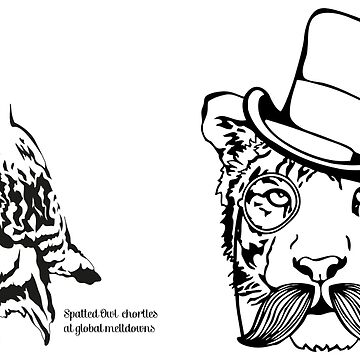 Dapper Tiger + Spatted Owl Set by MarenMay