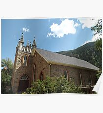 Historic Architecture, Georgetown, Colorado  Poster