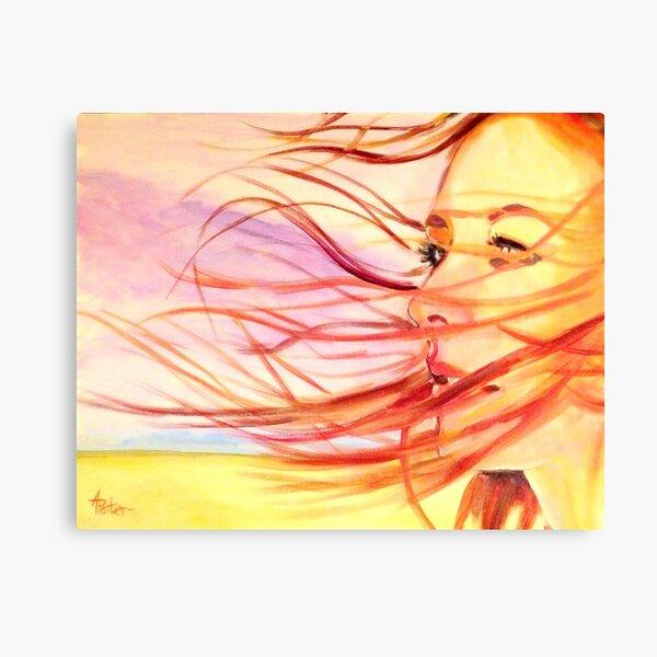 Tori in the Wind Canvas Print