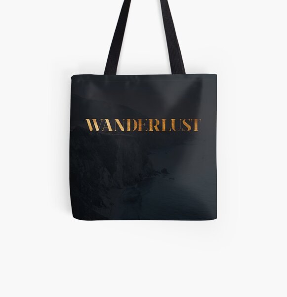 Wanderlust Allover-Print Tote Bag