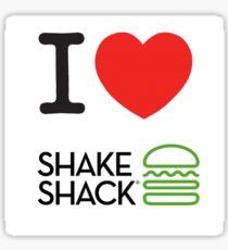 I Heart Shake Shack Sticker