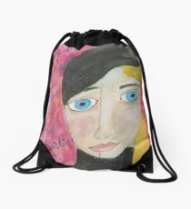 Be The Heroine Drawstring Bag