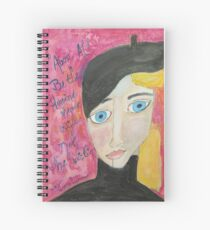 Be The Heroine Spiral Notebook