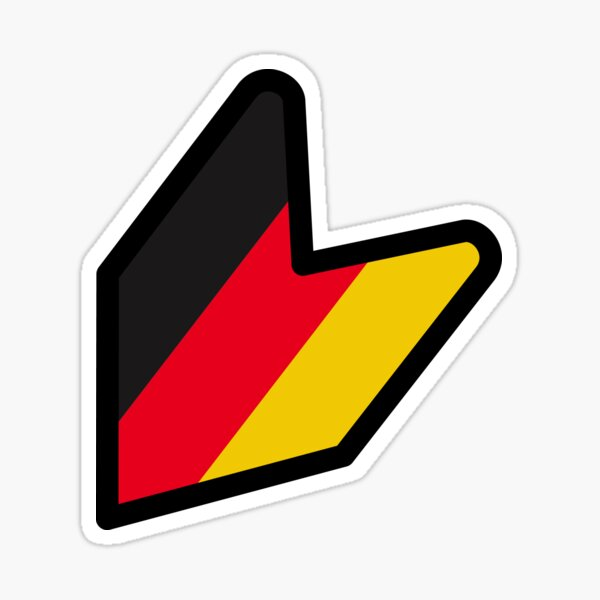 Wakaba Alemania [JDM / GDM] Pegatina