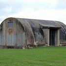 Radar Shack - Ash Island, Newcastle NSW by Bev Woodman