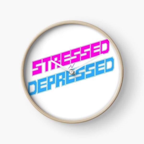 STRESSED n DEPRESSED Clock