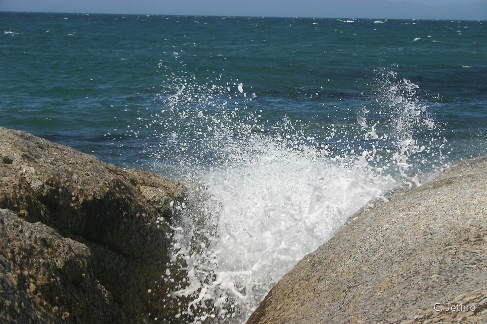 sea splash by C. Jethro