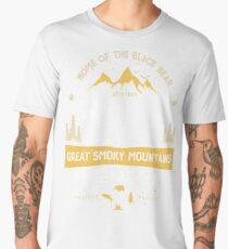 Great Smoky Mountains National Park Bear T shirt Vintage Men's Premium T-Shirt