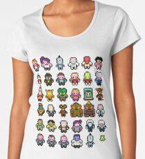 Futurama Characters Women's Premium T-Shirt