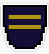 pixel blazon Sticker