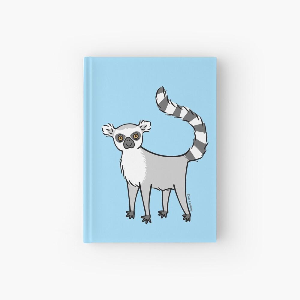 Ring Tailed Lemur Hardcover Journal