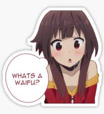 Qu'est-ce qu'un waifu? Sticker