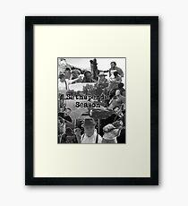 Sethspenders Season 1 Official Poster Framed Print