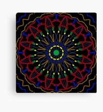 Fun Kaleidoscope Unique Design Canvas Print