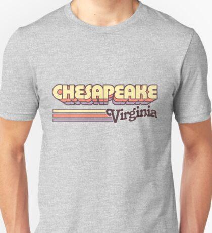 Chesapeake, VA   City Stripes T-Shirt