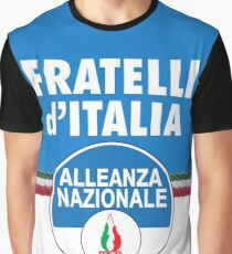 Fratelli d'Italia (Brothers of Italy ) Graphic T-Shirt