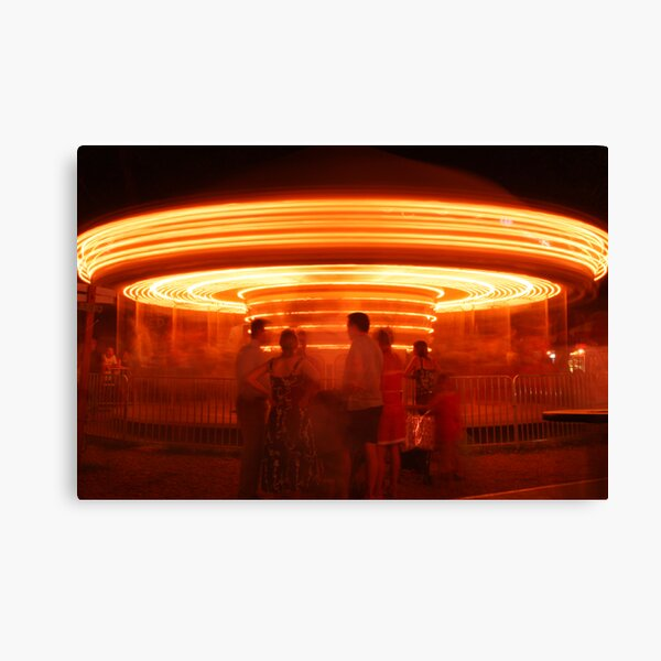 Fairground Attraction Canvas Print