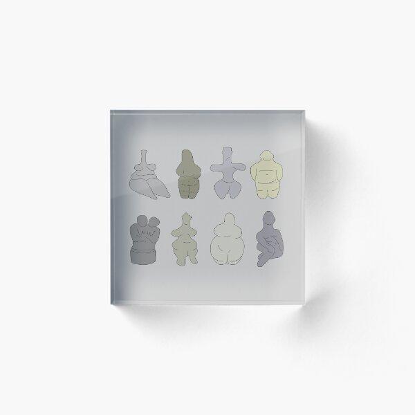 Figurines Acrylic Block