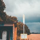 Moody Bus Shelter  by Aaron Fleming