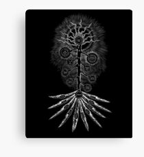 The Sephirothic Tree - Silver Edition Canvas Print