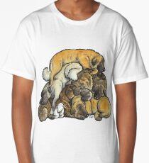 Sleeping pile of Estrela Mountain Dogs Long T-Shirt
