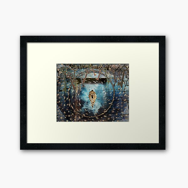 Bearer of the Keys Framed Art Print