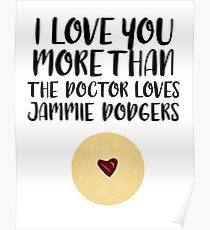 More than Jammie Dodgers Poster