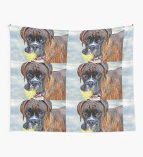 Tennis jedermann ?? ... -Boxer Dogs Series- Wandbehang