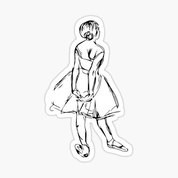 Little dancer Sticker
