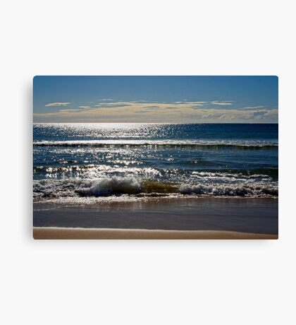 Sparkles in the Water Canvas Print