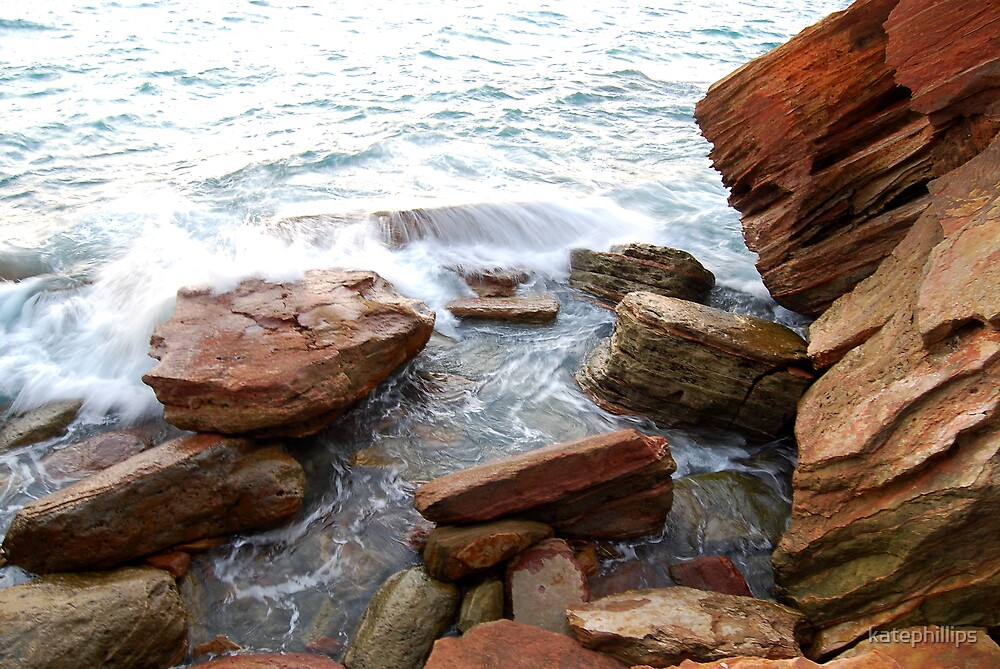 Rocks at Gantheaume Point by katephillips