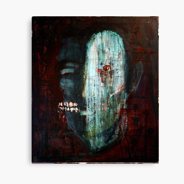 portrait of the killer Canvas Print