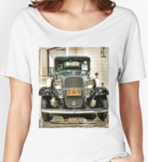 1932 Chevrolet with no state license name Women's Relaxed Fit T-Shirt