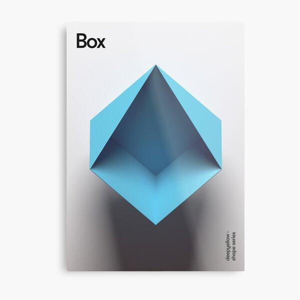 Box Metal Print