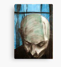 portrait of the Vampire Canvas Print