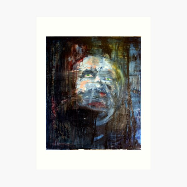 portrait of x Art Print