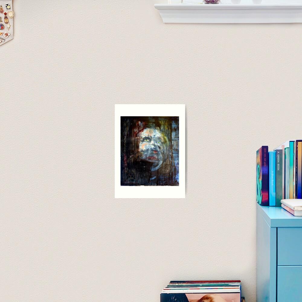 portrait of x Art Print