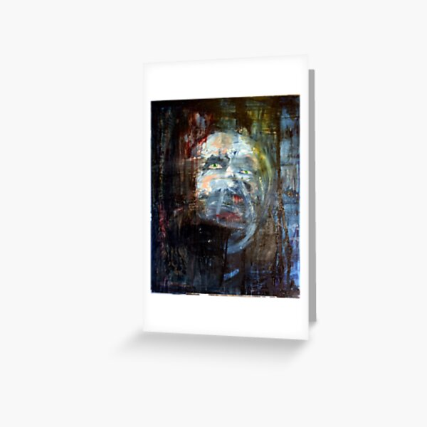 portrait of x Greeting Card